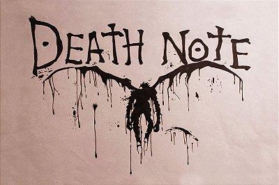 Quadro Anime Death Note - Escrito