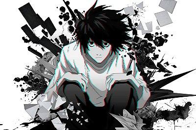 Quadro Anime Death Note - L