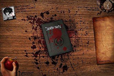 Quadro Anime Death Note - Caderno