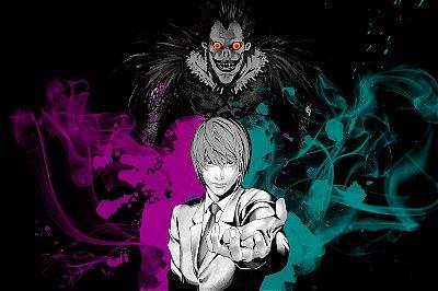 Quadro Anime Death Note - Artístico