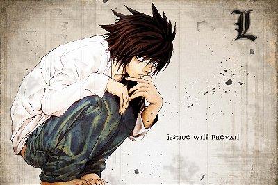 Quadro Anime Death Note - L 2