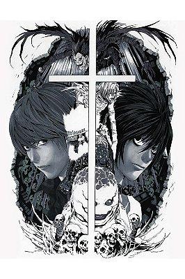 Quadro Anime Death Note - Artístico 2