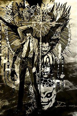 Quadro Anime Death Note - Artístico 3