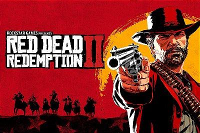 Quadro Gamer Red Dead Redemption - Capa