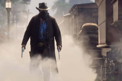 Quadro Gamer Red Dead Redemption - Bandido