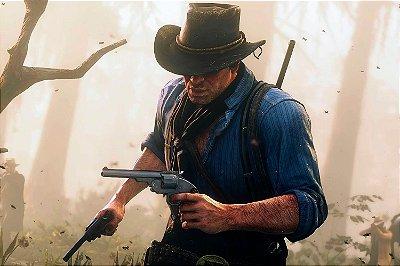 Quadro Gamer Red Dead Redemption - Arthur Morgan