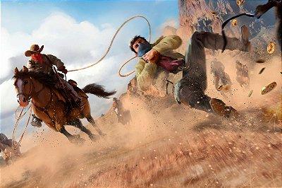 Quadro Gamer Red Dead Redemption - Gangue