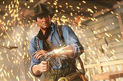 Quadro Gamer Red Dead Redemption - Arthur Morgan 2