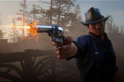 Quadro Gamer Red Dead Redemption - Arthur Morgan 4