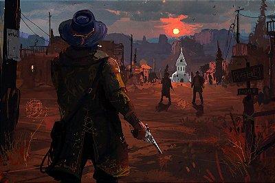 Quadro Gamer Red Dead Redemption - Pintura