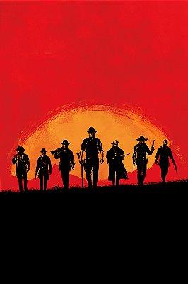 Quadro Gamer Red Dead Redemption - Pôster