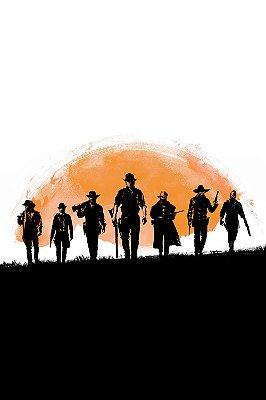 Quadro Gamer Red Dead Redemption - Pôster 2