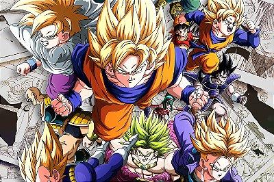Quadro Dragon Ball - Personagens 3