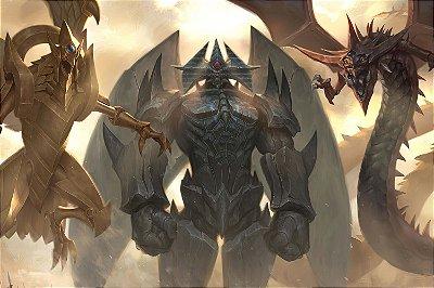 Quadro Anime Yu-Gi-Oh - Deuses Egípcios