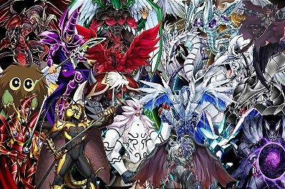Quadro Anime Yu-Gi-Oh - Monstros