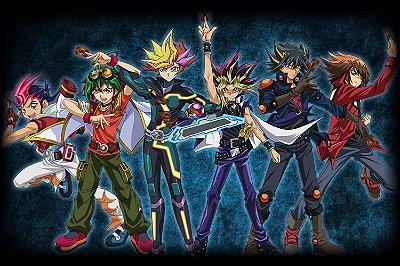 Quadro Anime Yu-Gi-Oh - Personagens