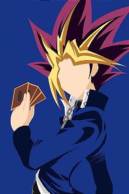 Quadro Anime Yu-Gi-Oh - Yugi Minimalista