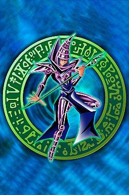 Quadro Anime Yu-Gi-Oh - Mago Negro