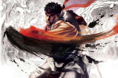 Quadro Gamer Street Fighter - Ryu 2
