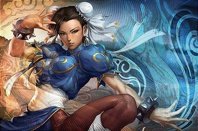 Quadro Gamer Street Fighter - Chun-Li