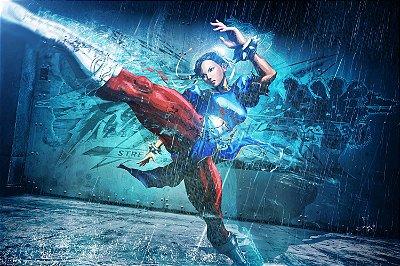 Quadro Gamer Street Fighter - Chun-Li 3