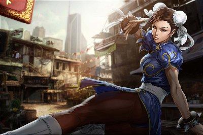 Quadro Gamer Street Fighter - Chun-Li 4