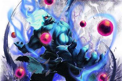 Quadro Gamer Street Fighter - Akuma 2