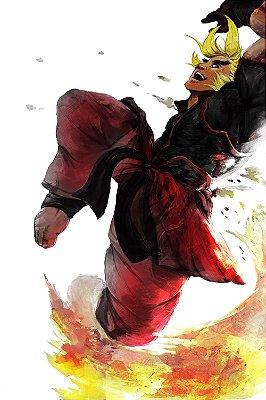 Quadro Gamer Street Fighter - Ken 2
