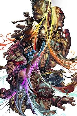 Quadro Gamer Street Fighter - Pôster