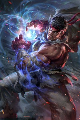 Quadro Gamer Street Fighter - Ryu 3