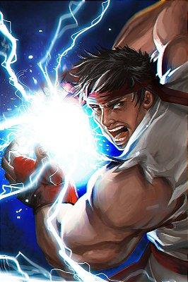 Quadro Gamer Street Fighter - Ryu 4