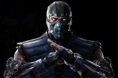 Quadro Gamer Mortal Kombat - Sub-Zero
