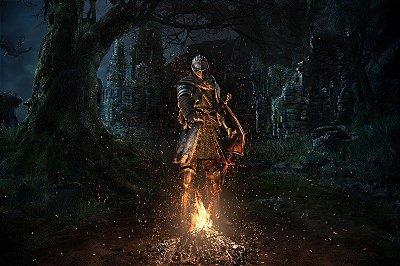 Quadro Gamer Dark Souls - Fogueira