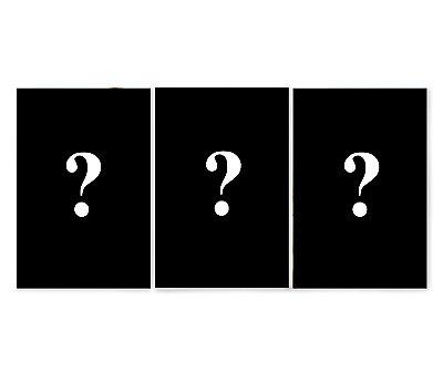 Quadro Personalizado 3 Quadros (imagem dividida)