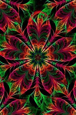 Quadro Abstrato - Flower Vibes