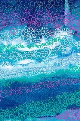 Quadro Abstrato - Águas Borbulhantes