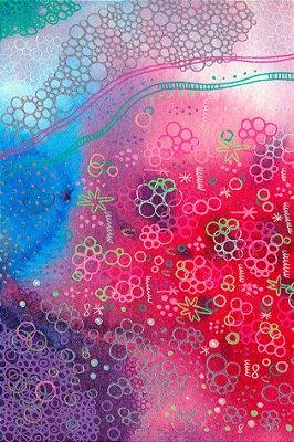 Quadro Abstrato - Profundeza Rosa