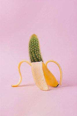 Quadro Moderno - Cacto Banana