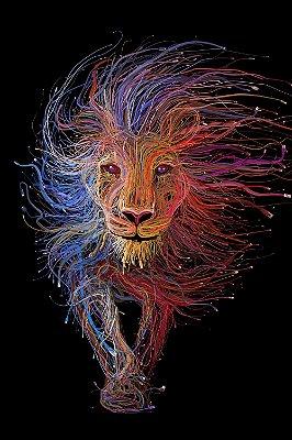 Quadro Leão - Moderno