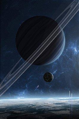 Quadro Universo - Saturno