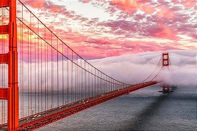 Quadro Paisagem - Ponte de São Francisco