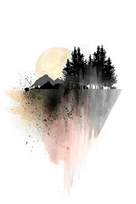 Quadro Minimalista - Pintura Natural