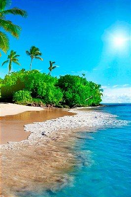 Quadro Praia - Tropical