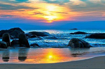 Quadro Praia - Pedras do Mar