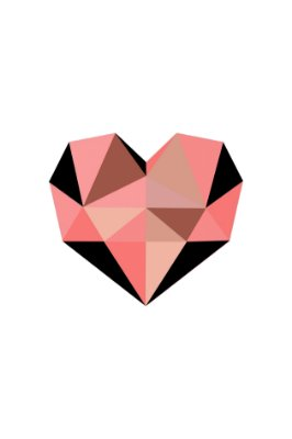 Quadro Minimalista - Coração