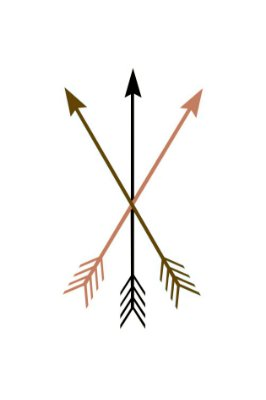 Quadro Minimalista - Flechas