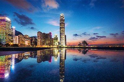Quadro Paisagem - Hong Kong