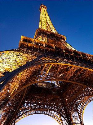 Quadro Paisagem - Torre Eiffel de Baixo