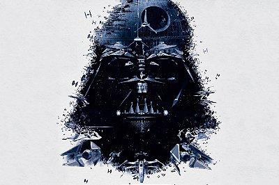 Quadro Star Wars - Darth Vader Artístico