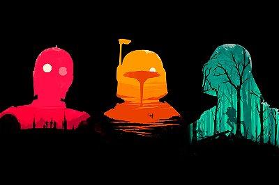 Quadro Star Wars - Artístico